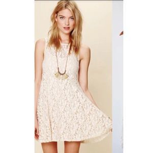 Free People Lace Lined Dress — 43